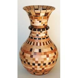 """""""Vaso a segmenti"""" 831 pezzi artigianato sardo"""